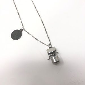 Urban Outfitters Silver Wishing Well Necklace
